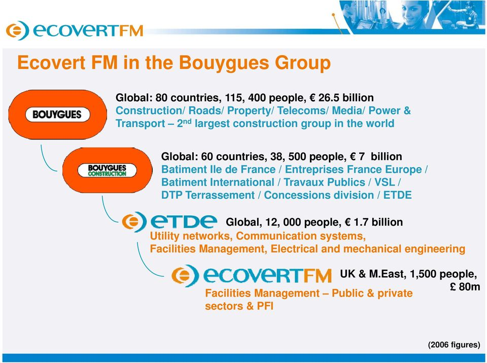 Ecovert FM: an overview  A Leading Total Facilities Management