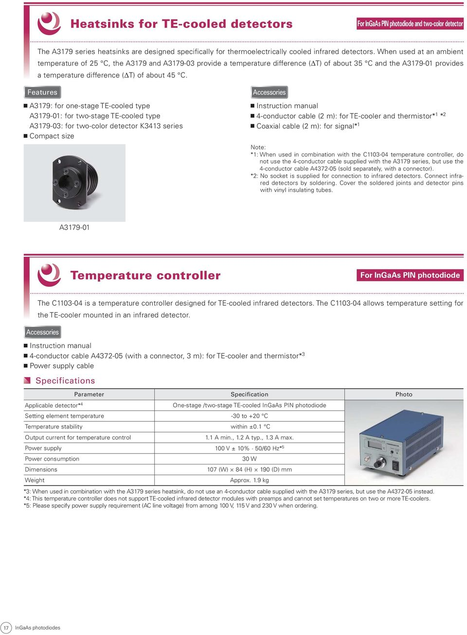 Selection Guide March Near Infrared Detectors With Low Noise And La4550 Audio Amplifier Features A3179 For One Stage 01 Two