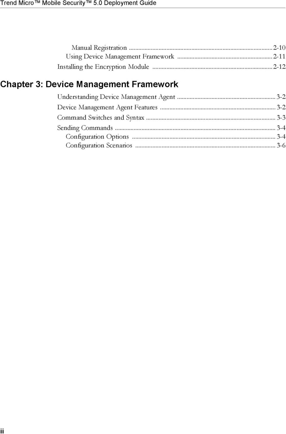 ..2-12 Chapter 3: Device Management Framework Understanding Device Management Agent.