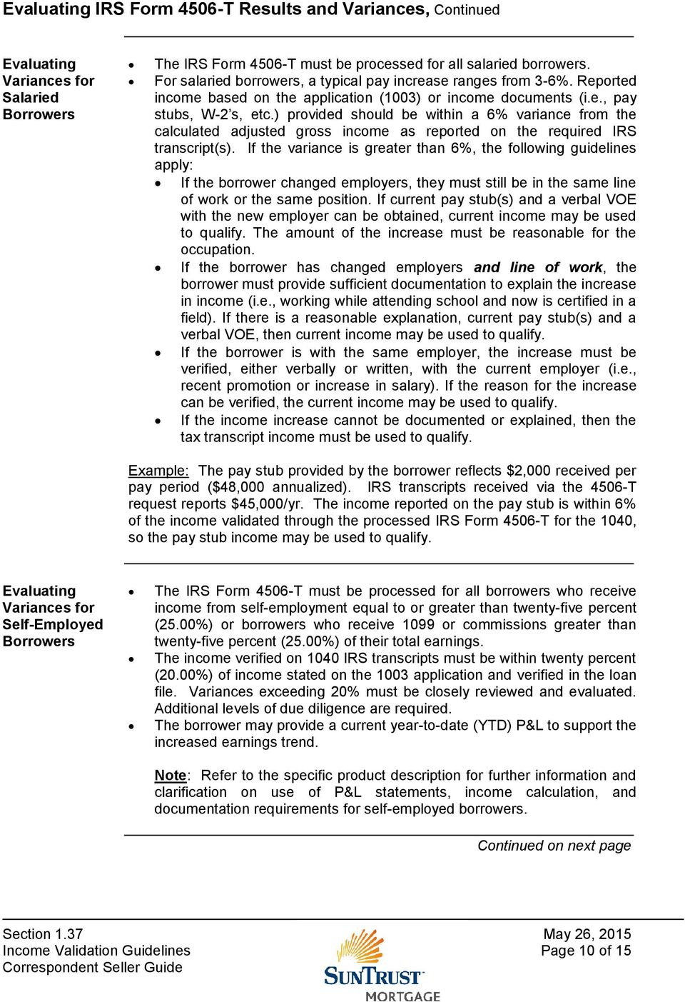 Section 1.37 Income Validation Guidelines - PDF