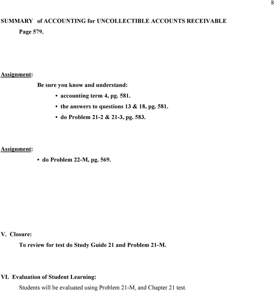 chapter 8 accounting study guide answers