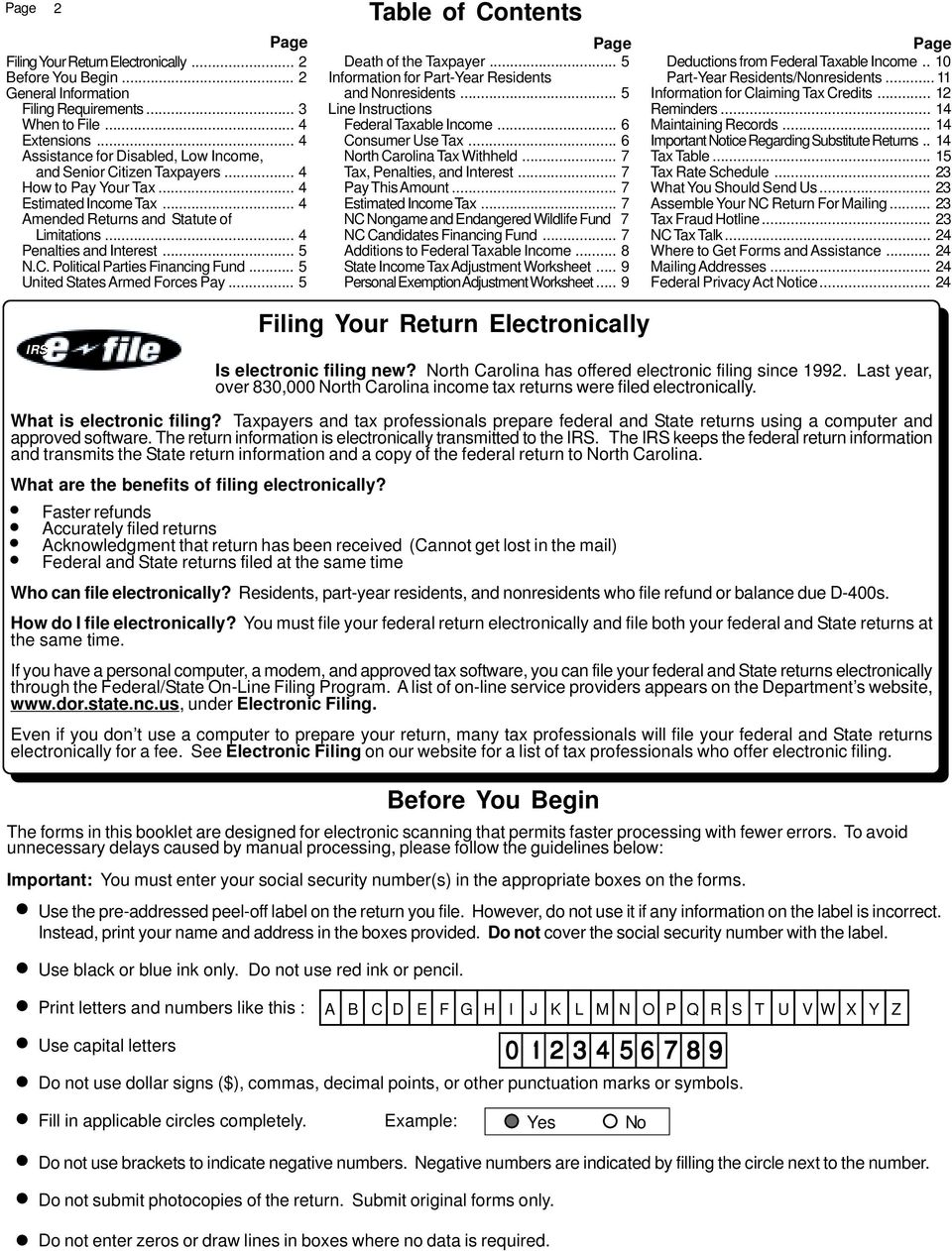 North Carolina Individual Income Tax Are You Interested In
