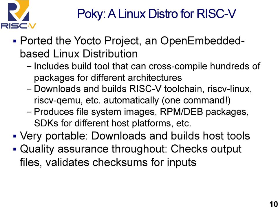 RISC-V Software Ecosystem  Andrew Waterman UC Berkeley - PDF