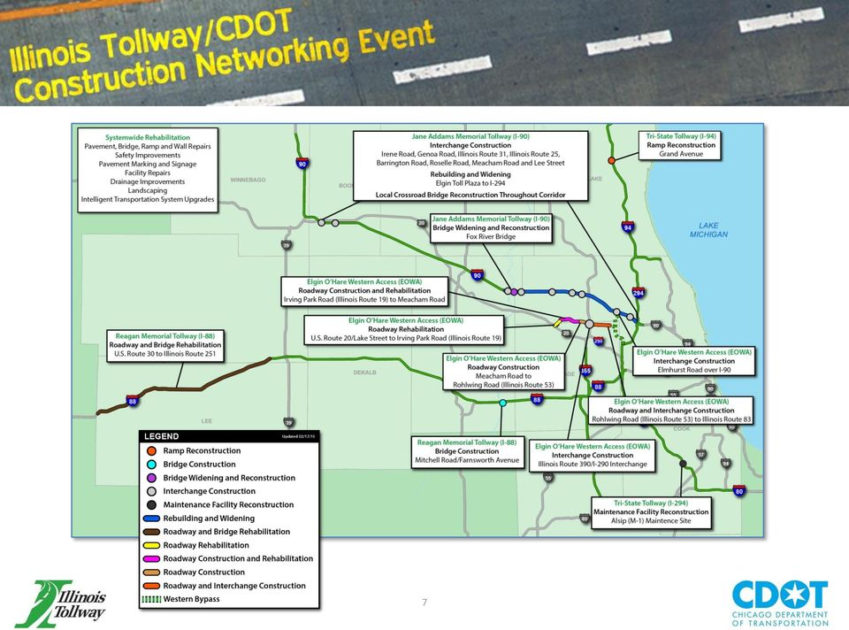 Illinois Tollway and Chicago Department of Transportation