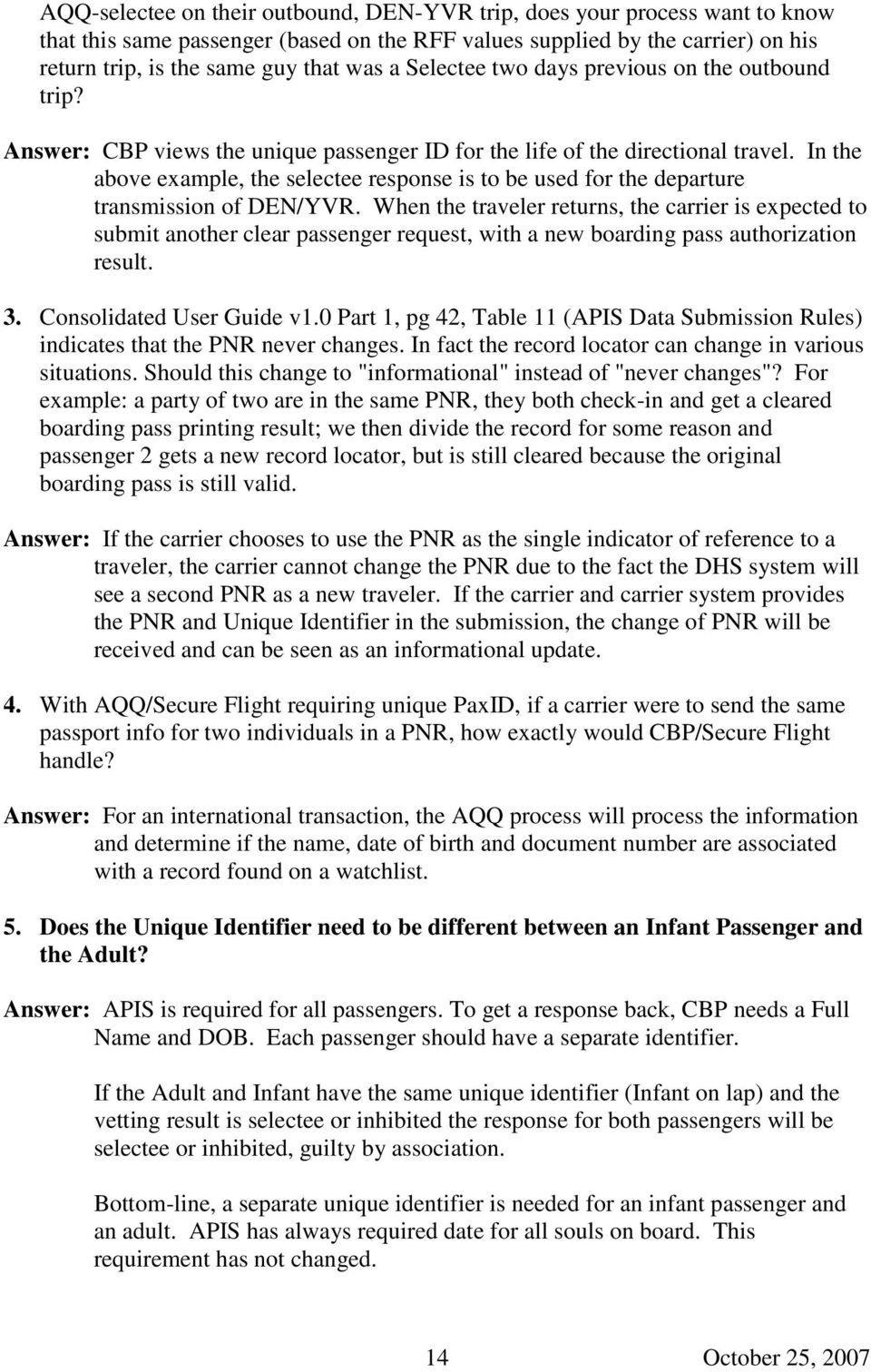 Apis Frequently Asked Questions Pdf