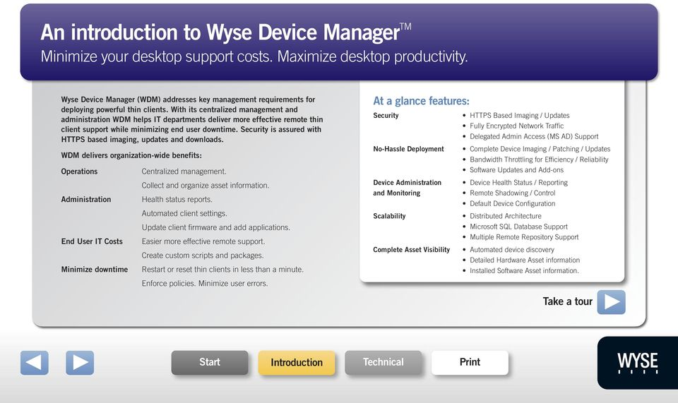 Wyse Device Manager TM - PDF