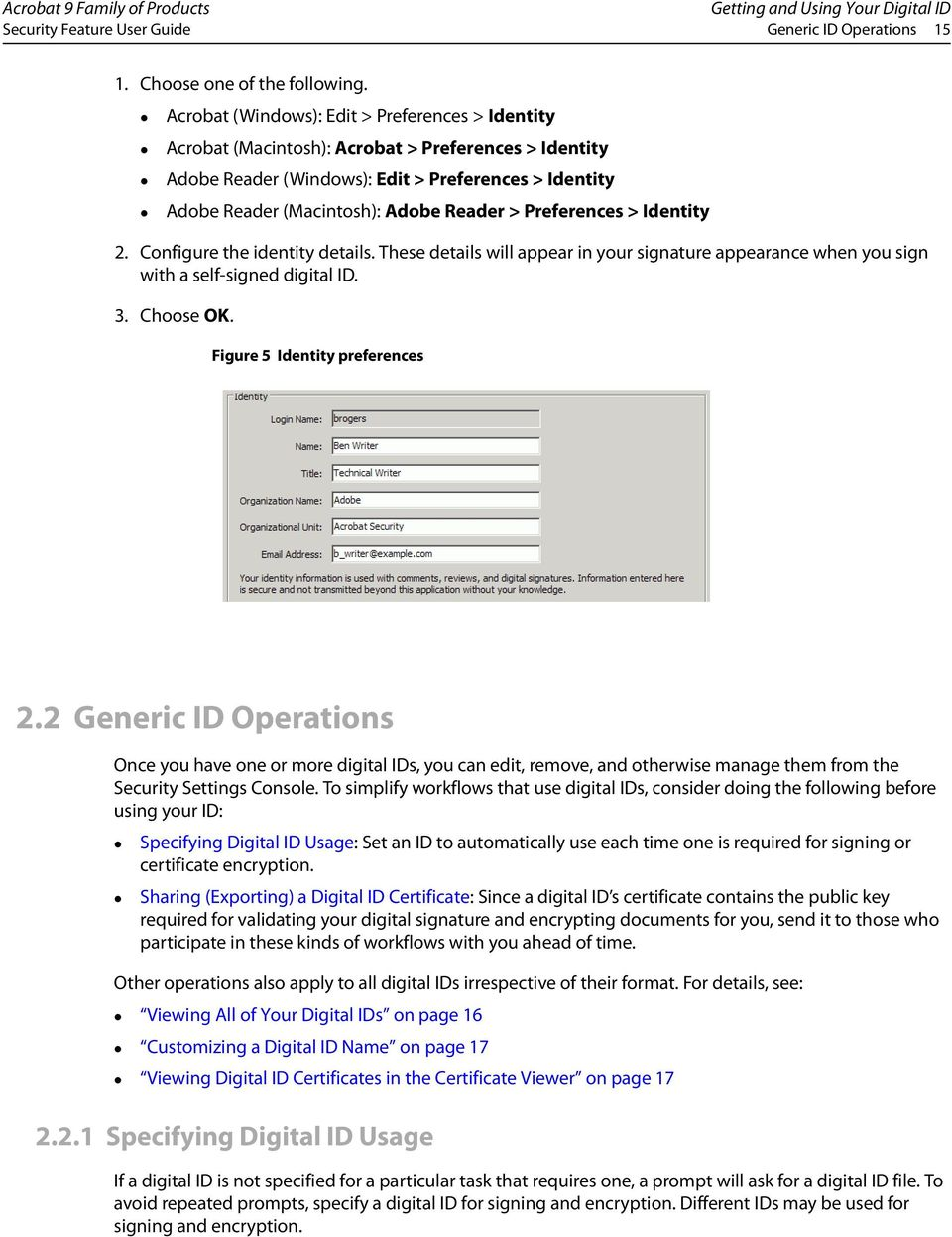 Digital Signature User Guide for Acrobat 9 0 and Adobe
