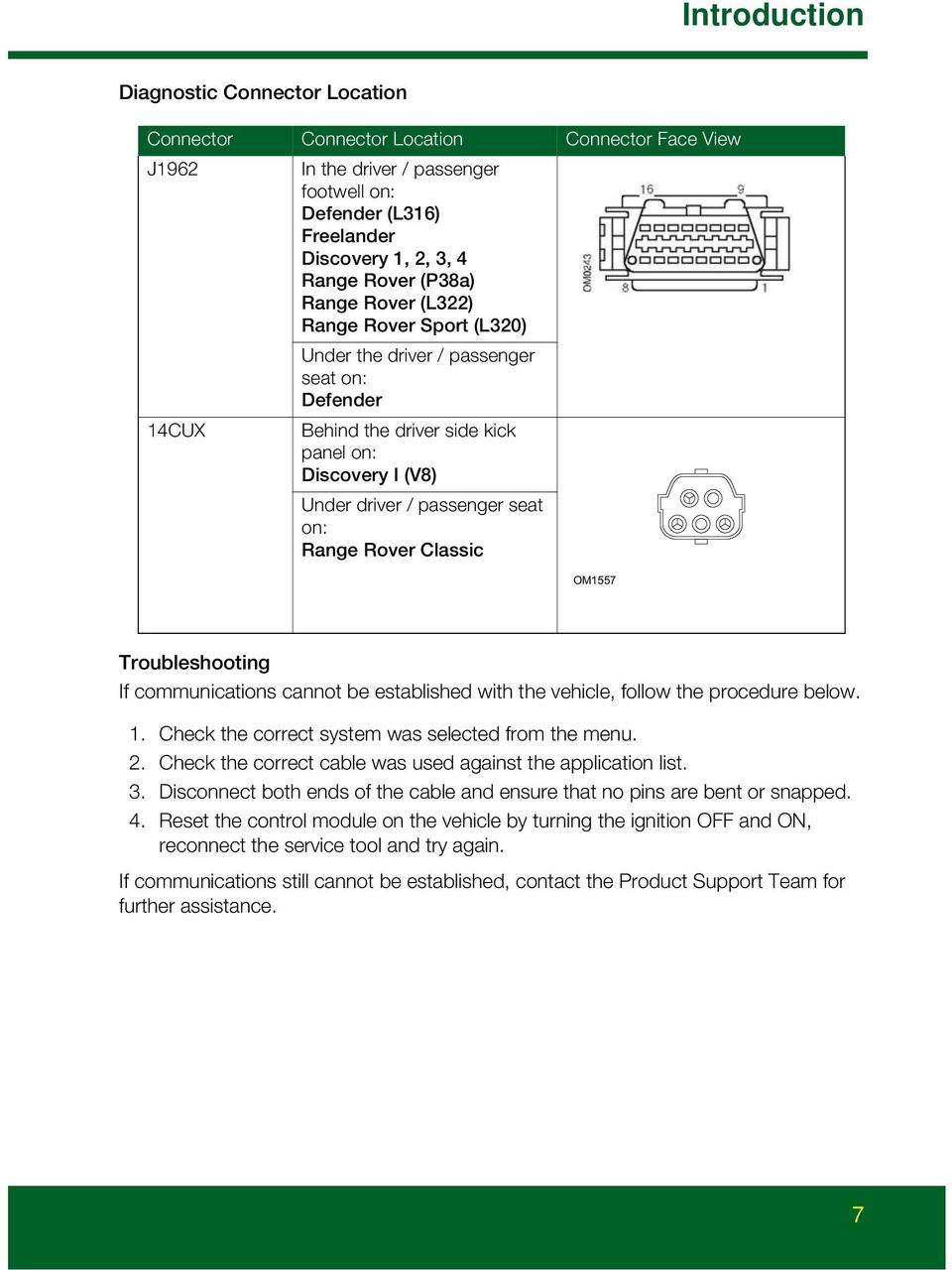 HawkEye  User Manual  Your new diagnostic tool for Land Rover