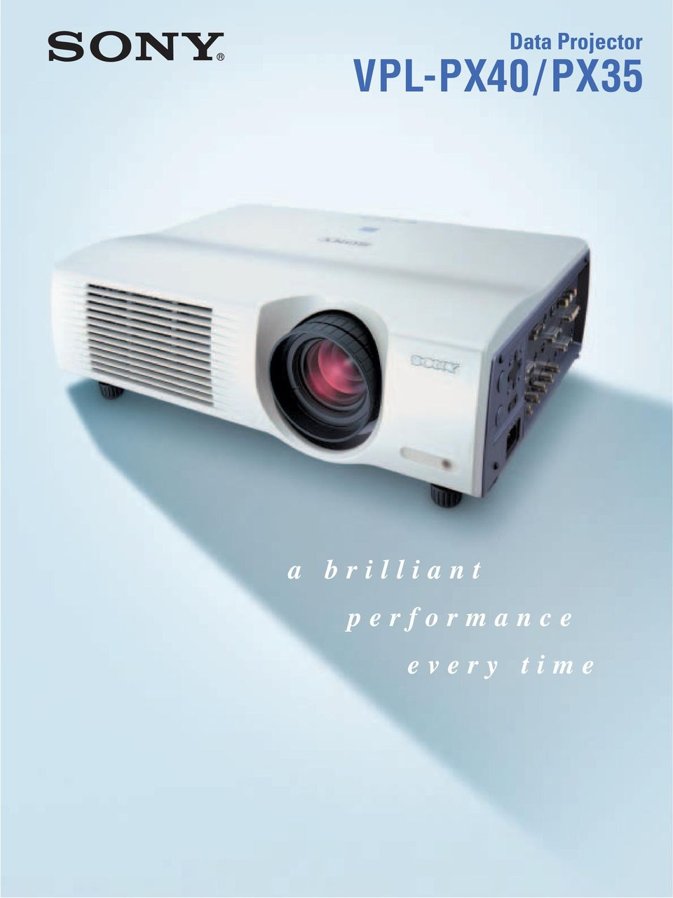 The Key To Smart Presentations Sony Vpl Px40 Px35 Projector Pdf Lcd Multifunction Controller Circuit Diagram Control 2 Visuals Leave A Lasting Impression With Its Rightness Of 3500 Ansi Lumens And High