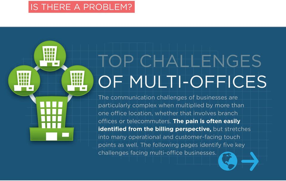 multiplied by more than one office location, whether that involves branch offices or telecommuters.