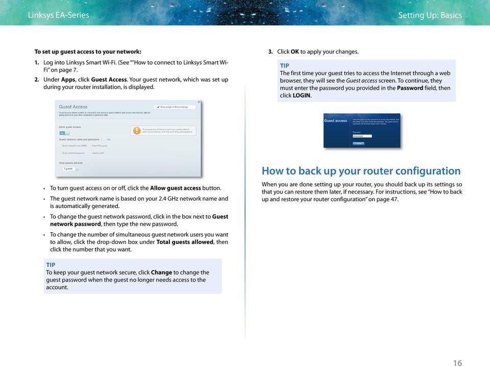 Linksys SMART Wi-Fi Routers with Wireless-AC  User Guide - PDF