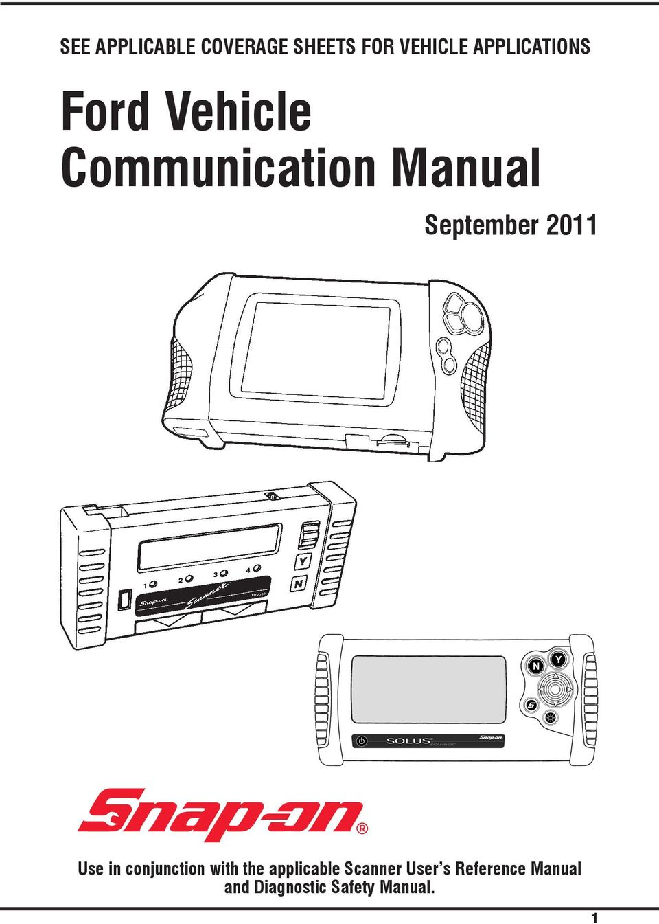 Ford Vehicle Communication Manual - PDF