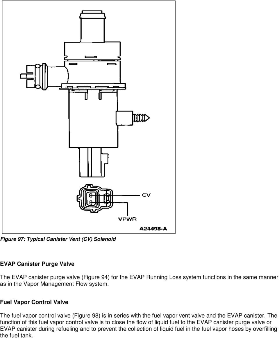 Chevrolet Sonic Repair Manual: Evaporative Emission Canister Replacement (Steel Tank)
