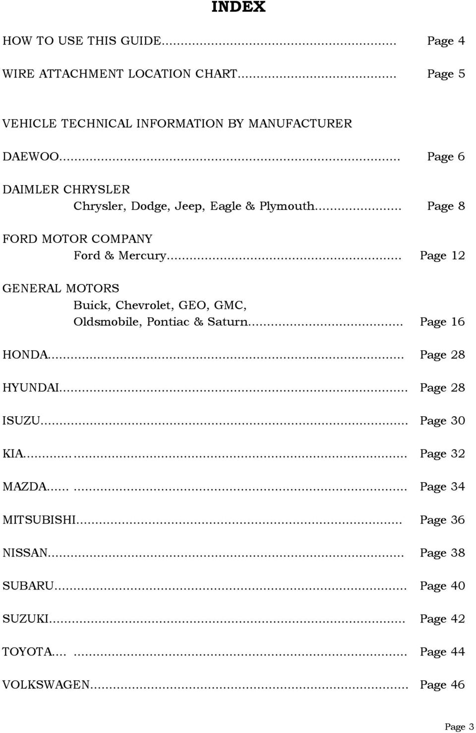 Vehicle Technical Information Guide For Cruise Control Pdf 1997 Infinity Eagle Mini Right Fuse Box Diagram Page 12 General Motors Buick Chevrolet Geo Gmc Oldsmobile