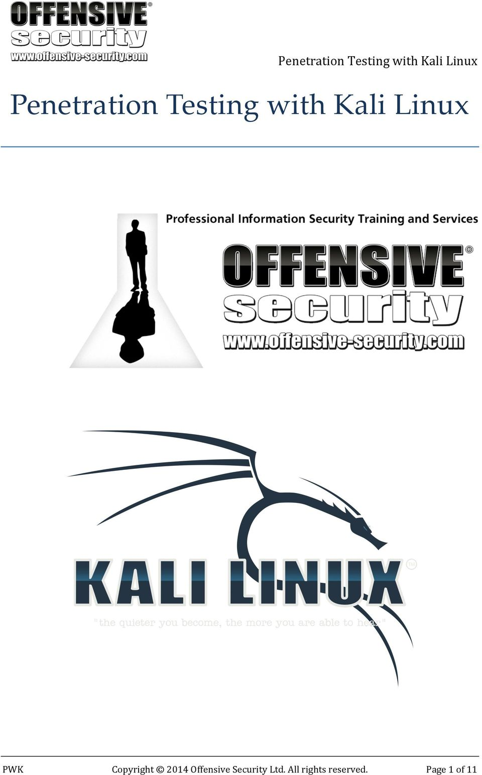 2014 Offensive Security Ltd.