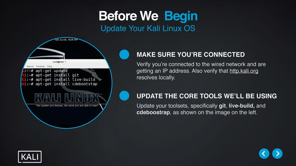 The Kali Linux Dojo - Rolling Your Own ISOs - PDF