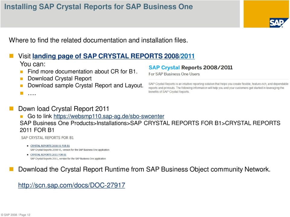 Crystal Reports Basics - PDF
