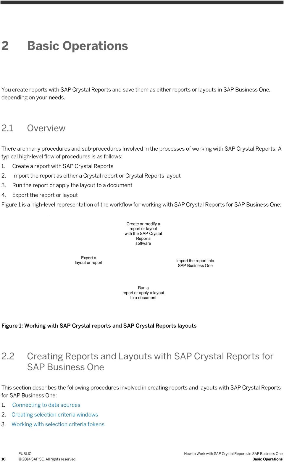 create a report with sap crystal reports 2 import the report as either a crystal