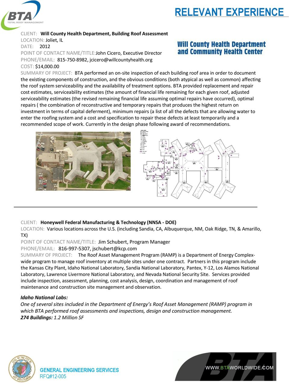 RFQ FOR GENERAL ENGINEERING SERVICES: CIVIL ENGINEERING- ROOF - PDF