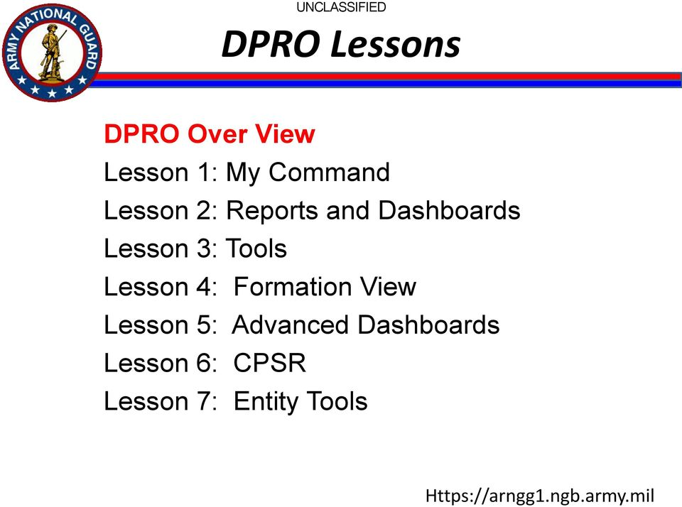 Overview  G1 Data Portal October 2013 DPRO  UNCLASSIFIED - PDF