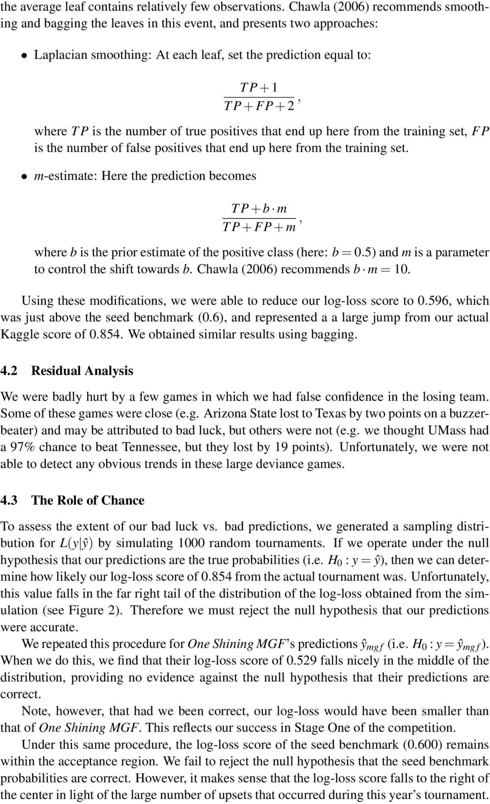 In Pursuit of Perfection: An Ensemble Method for Predicting