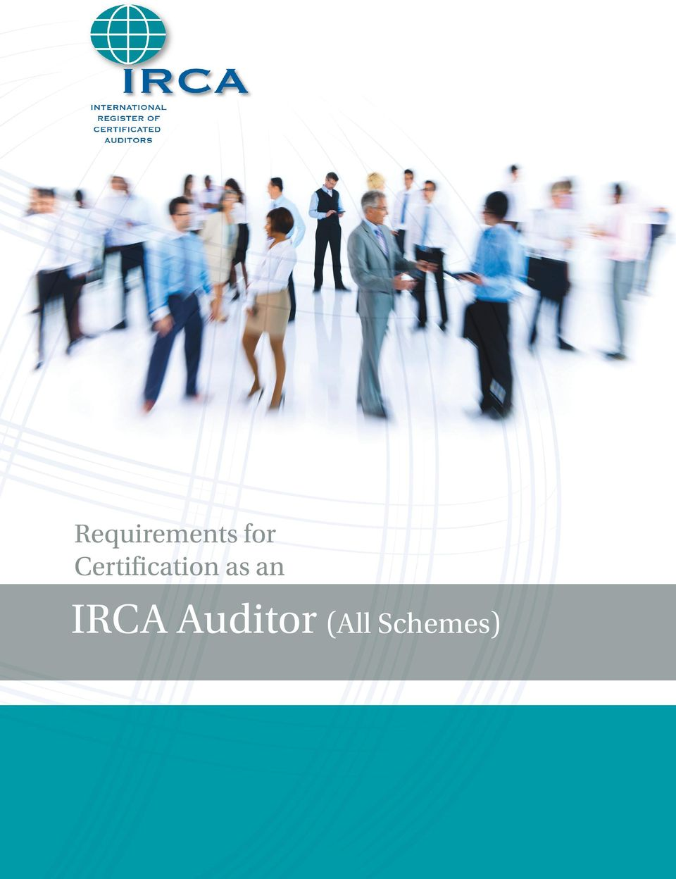 Requirements for certification as an. Irca auditor (all schemes) pdf.