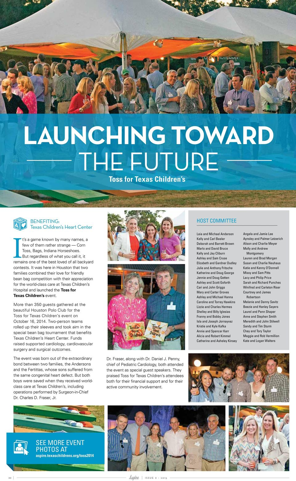 A GIFT FOR A GROWING COMMUNITY, p  7  THE CAMPAIGN FOR TEXAS