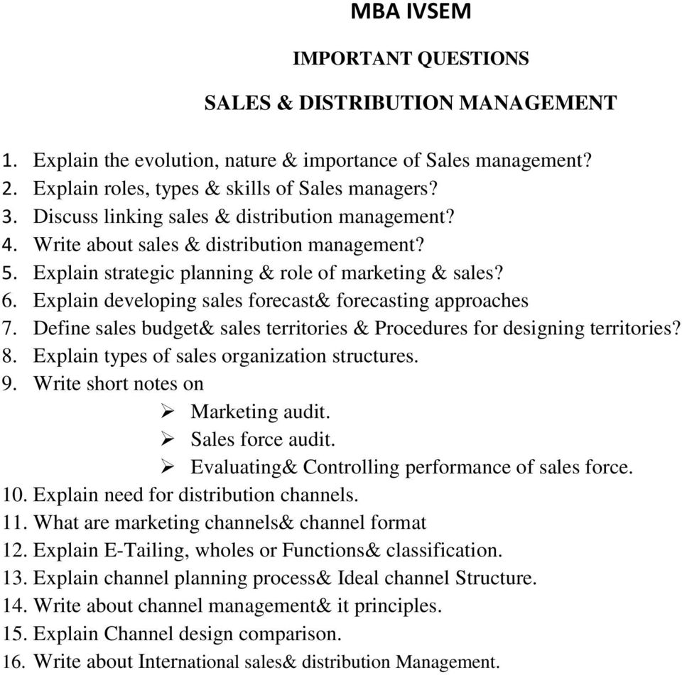 MBA IVSEM IMPORTANT QUESTIONS COMPENSATION & REWARD MANAGEMENT  1