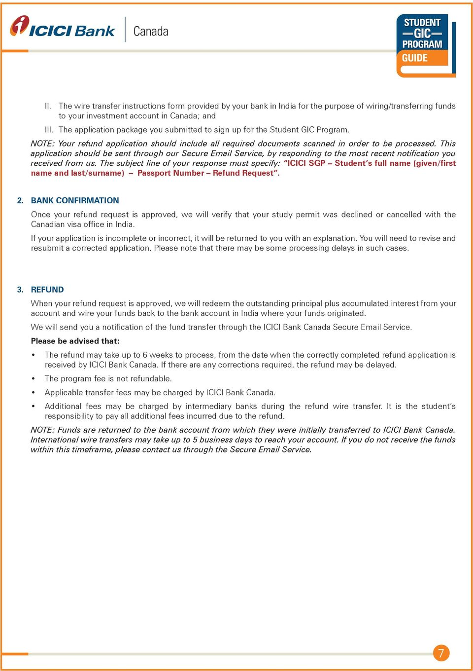 ICICI Bank Canada Student GIC Program Guide Complete Steps - PDF