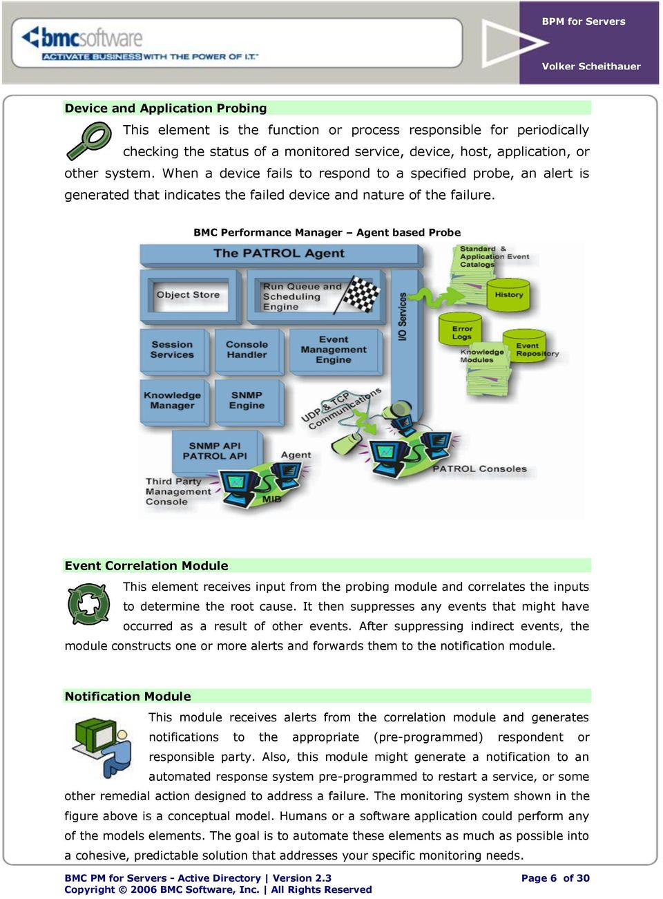 BMC Performance Manager Active Directory Best Practices White Paper