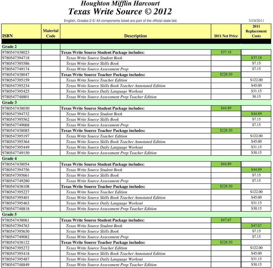 Texas write source pdf 18 9780547395586 texas write source skills book 715 9780547749174 texas write source assessment prep 715 9780547438047 fandeluxe Gallery