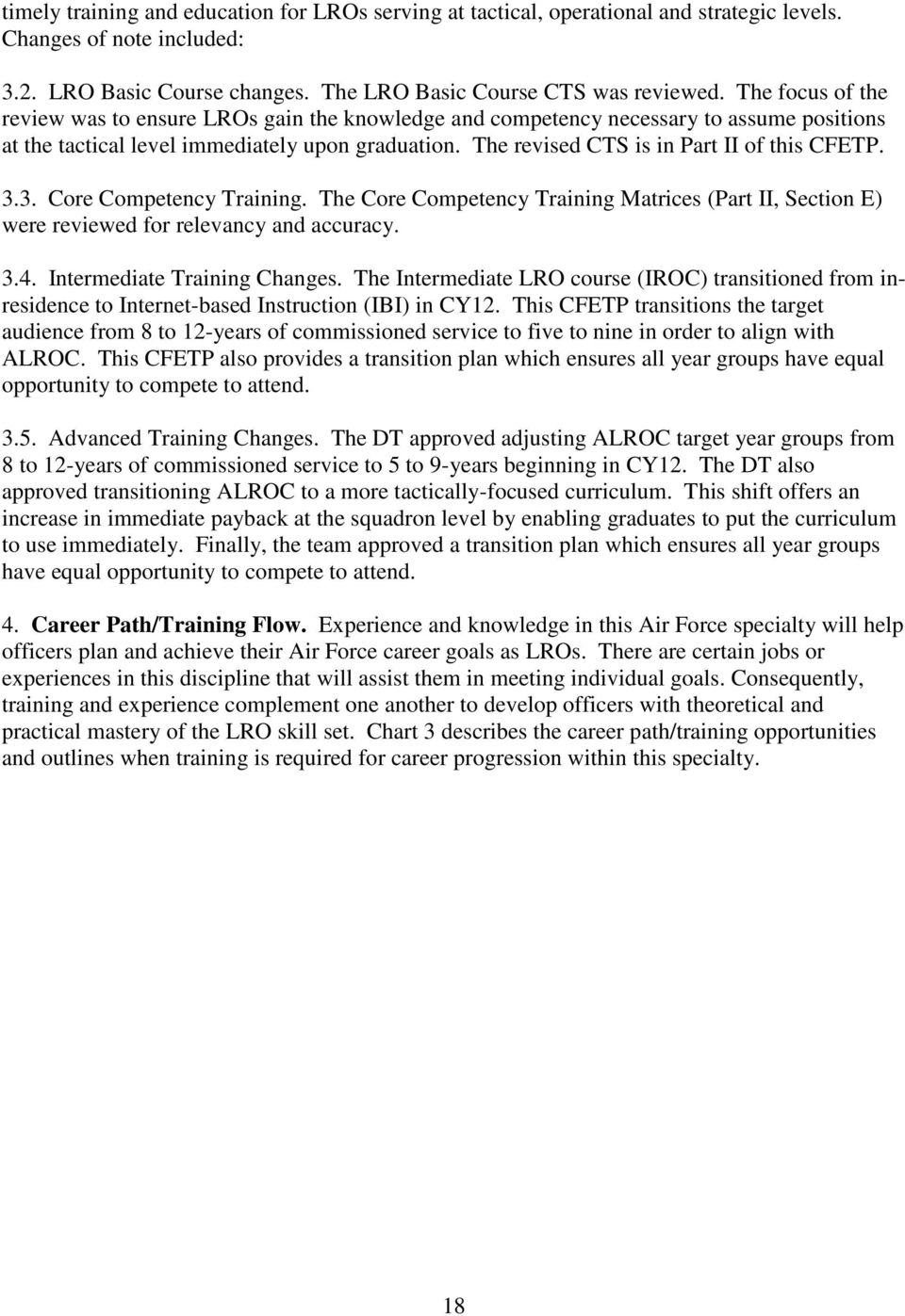 AFSC 21RX LOGISTICS READINESS OFFICER CAREER FIELD EDUCATION