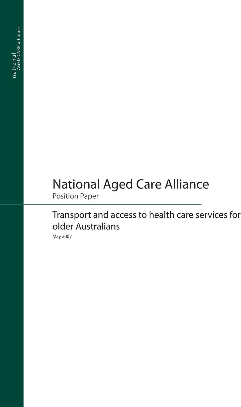 Paper Transport and access to health