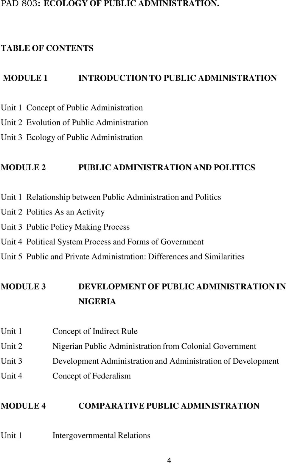Forms of government. Public administration system 51