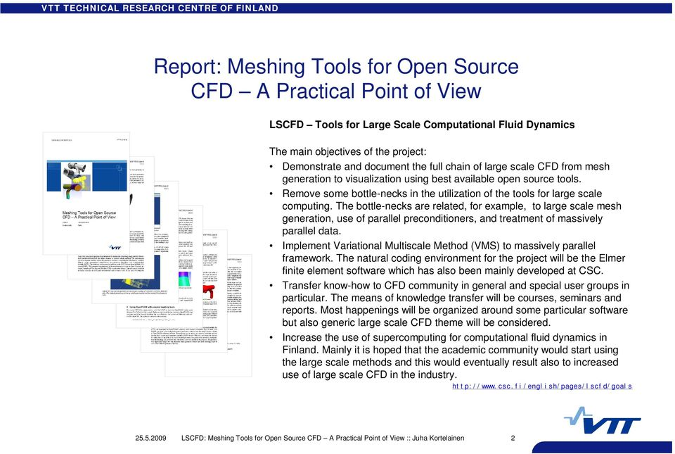 LSCFD: Meshing Tools for Open Source CFD A Practical Point