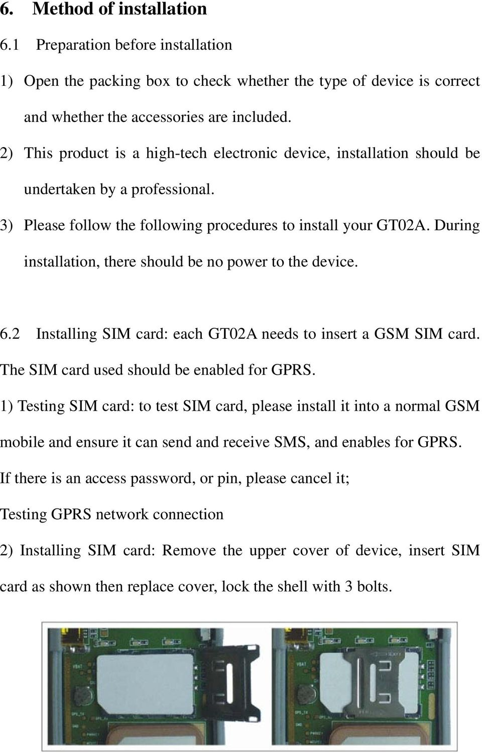 GPS Vehicle Tracker (GPS+GSM+GPRS) User Manual (Version 1 2) - PDF