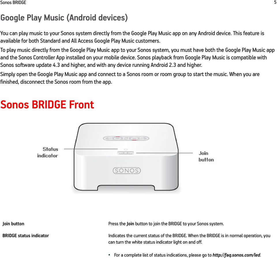 Play Music from Your Android Device Via Sonos