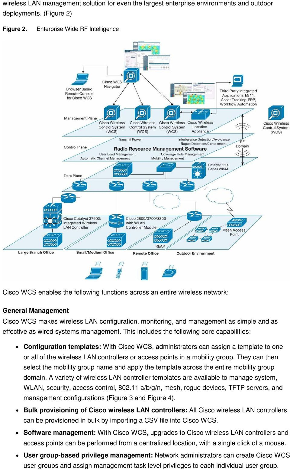 Cisco Wireless Control System Wcs Pdf Diagrams 4400 Series Lan Controllers As Simple And Effective Wired Systems Management 3 Network Auditing Administrators Can Audit Controller