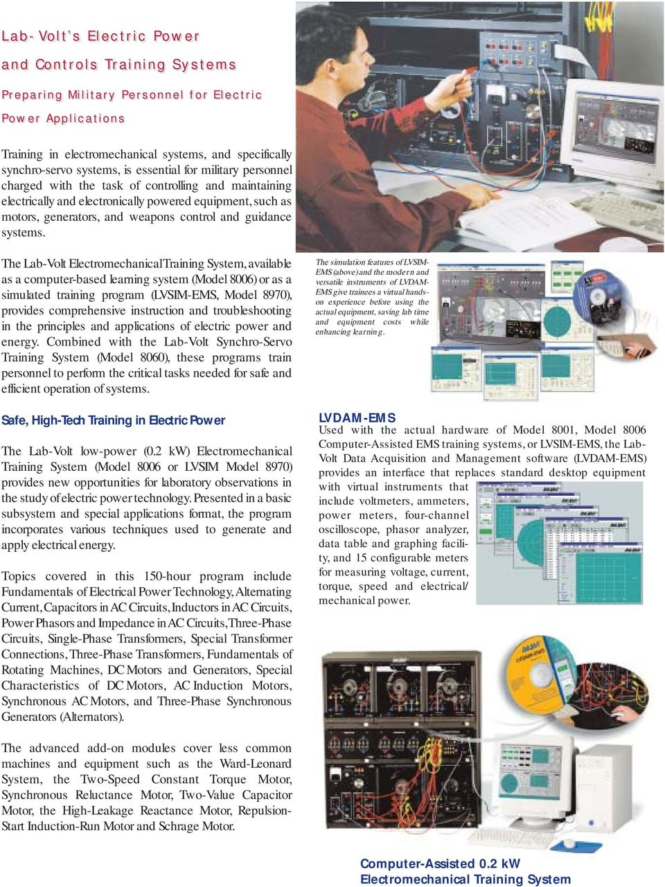 Lab Volt S Award Winning Training Systems The Global Solution Pdf Troubleshooting Electrical Circuits Software