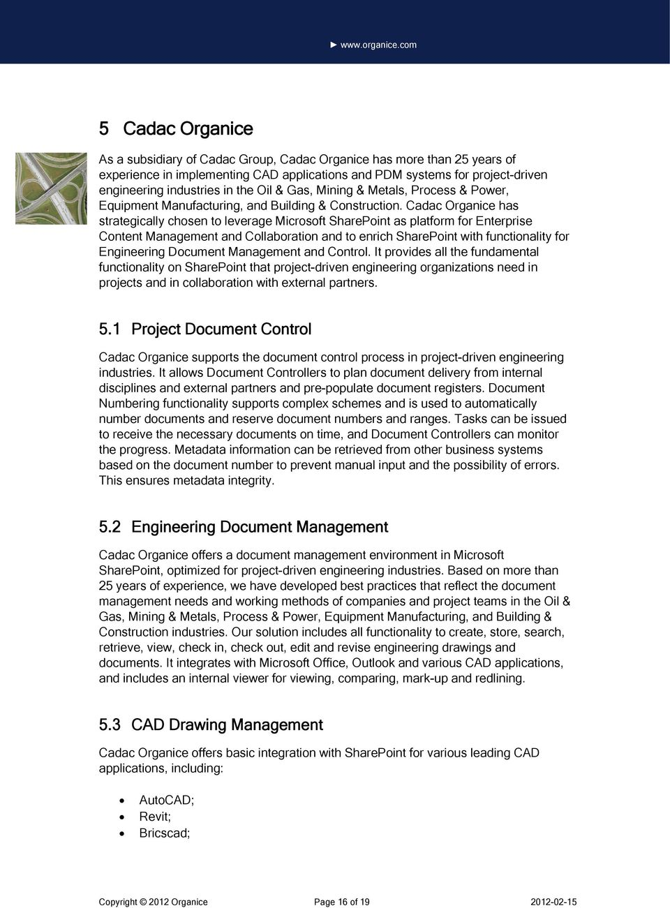 SharePoint for Engineering Document Management & Control - PDF