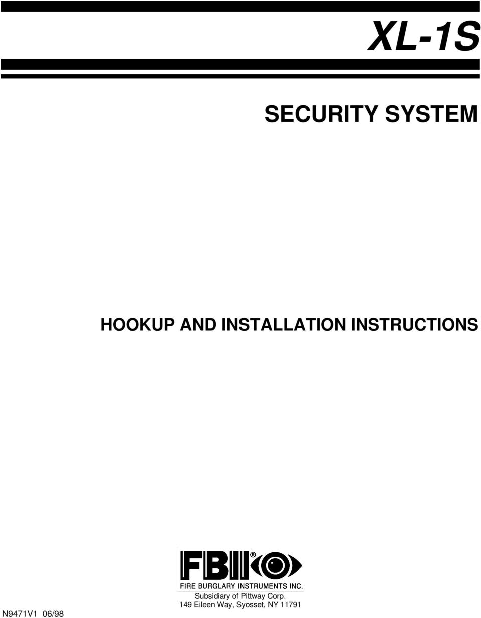 HOOKUP SECURITY FOR SYNCHRONOUS MACHINES.