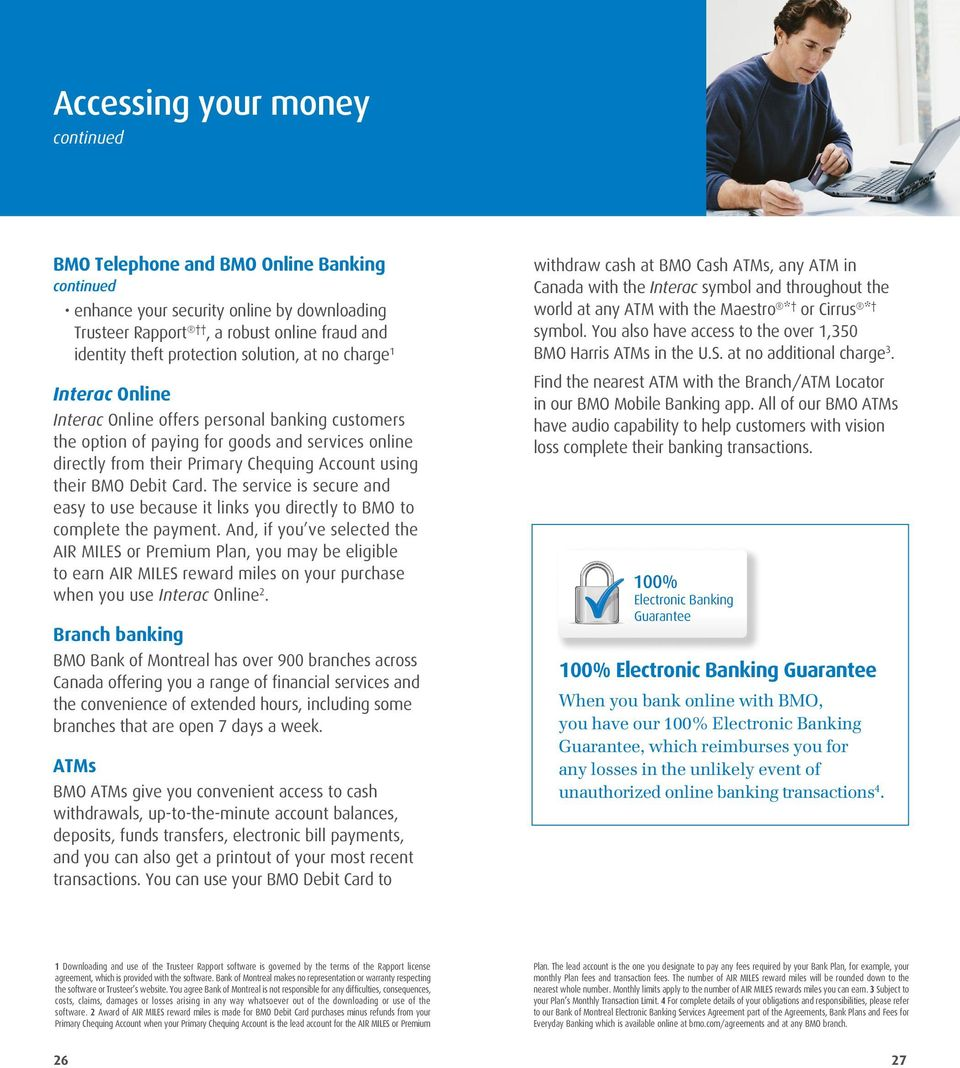 Your Guide to  Personal Banking  Everyday banking with BMO Personal