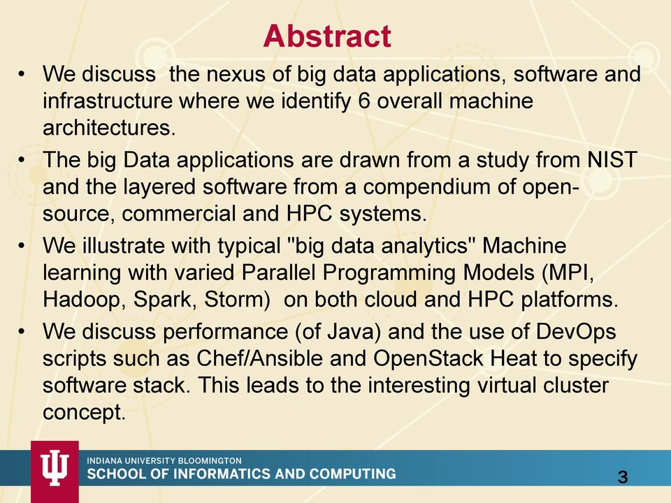 Big Data Applications, Software and System Architectures - PDF