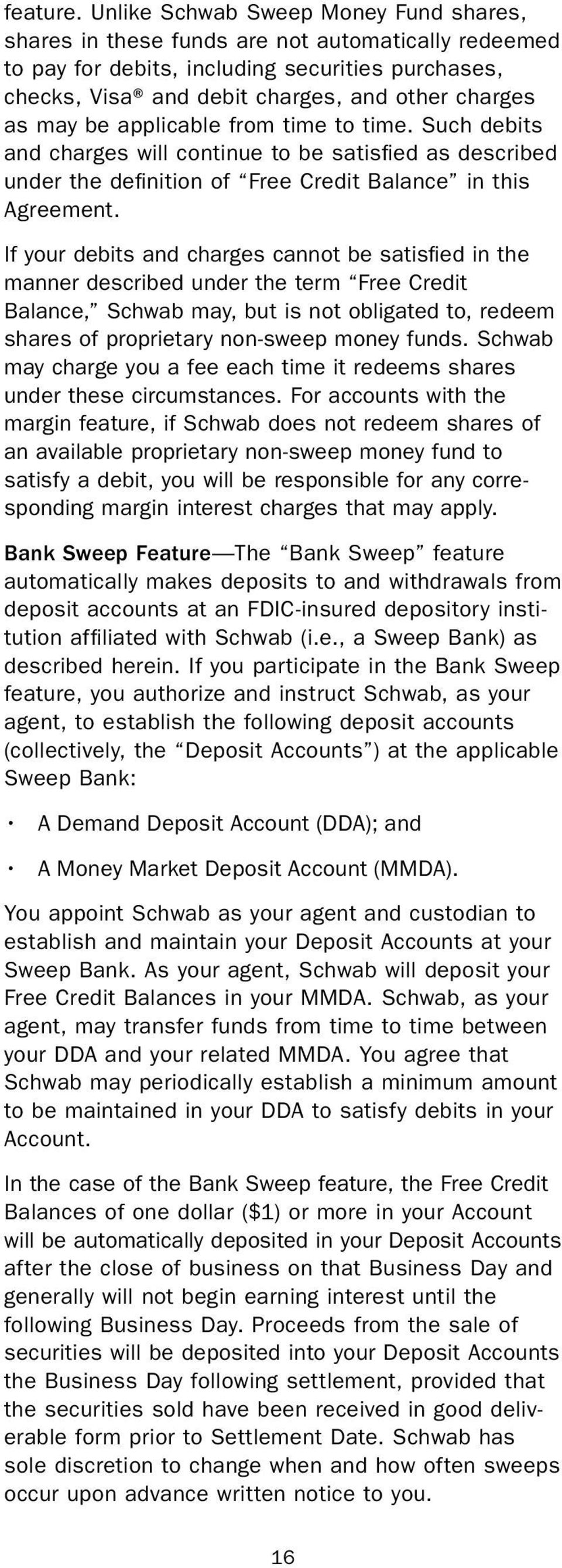 Schwab One Account Agreement Pdf
