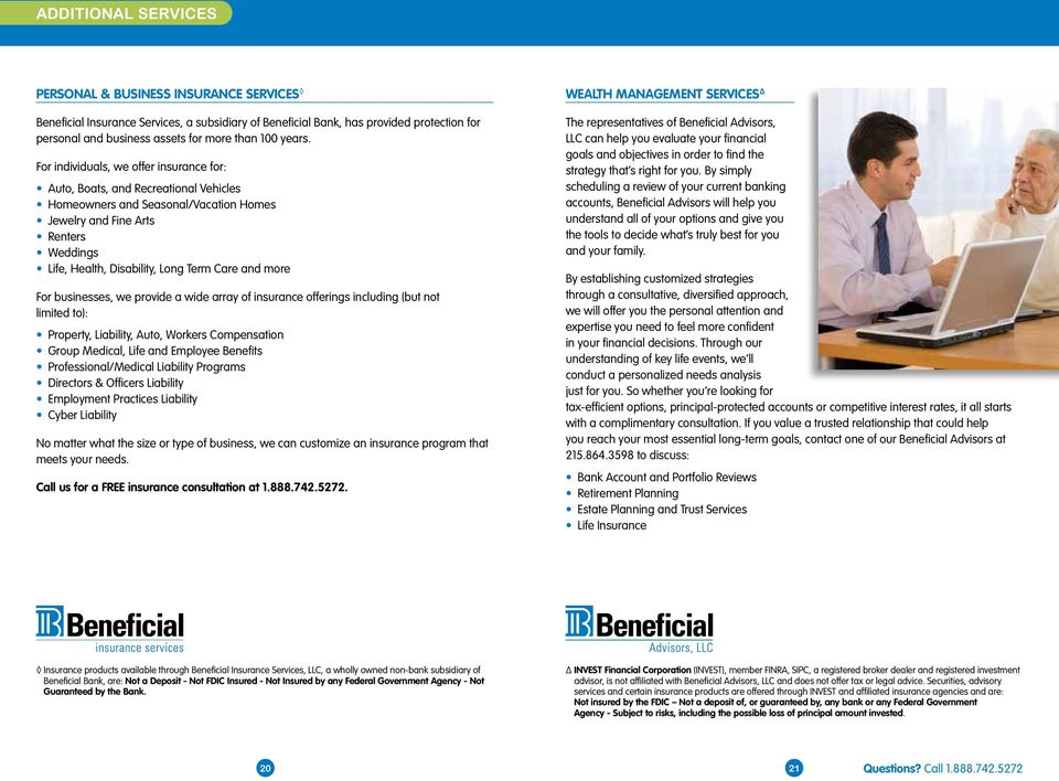 WELCOME GUIDE Introducing Beneficial Bank Everything you need to