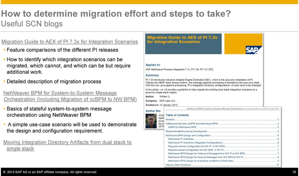 Upgrade made easy: SAP Tools, Accelerators and Best