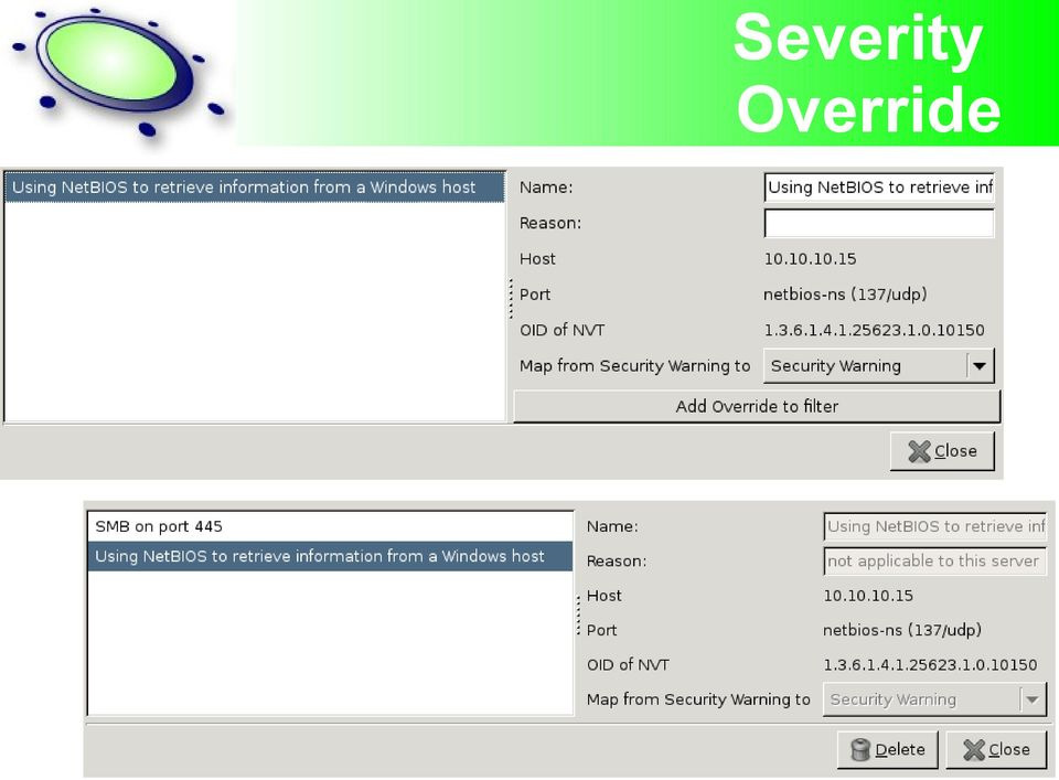 LinuxCon #1 OpenVAS Open Vulnerability Scanning Free your