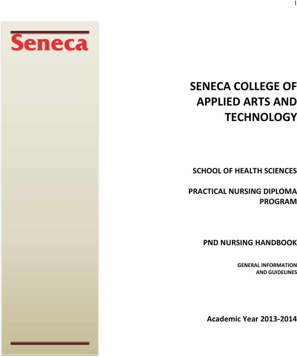 Seneca College Of Applied Arts And Technology Pdf