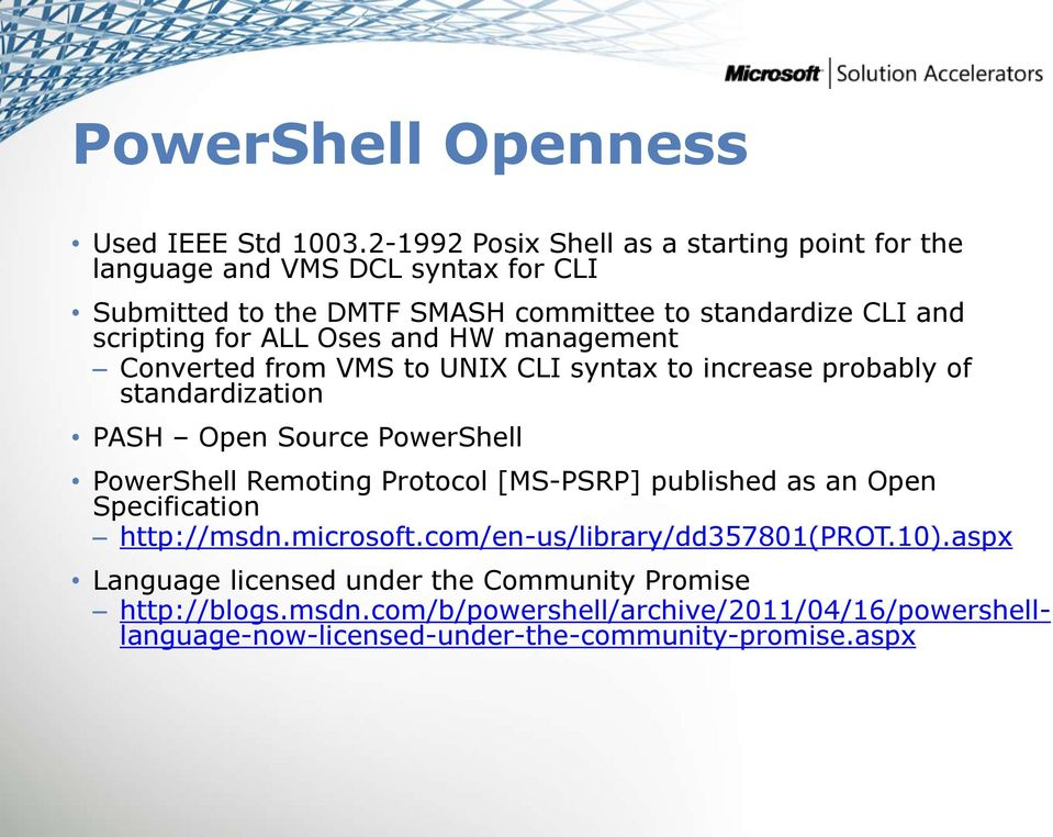 PowerShell Support in SCAP 1 2  Michael Tan Microsoft Corporation - PDF