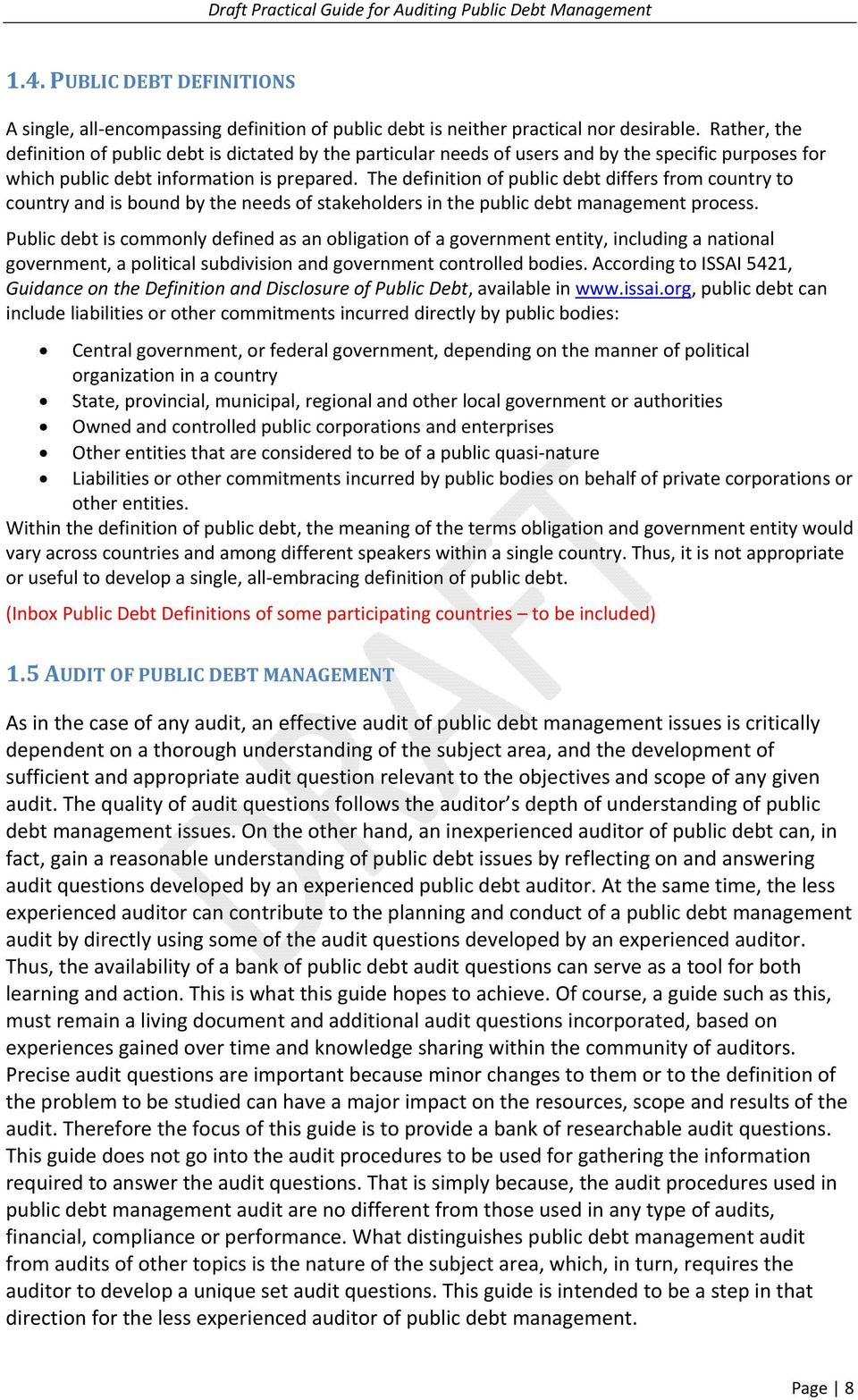 auditing public debt management - pdf